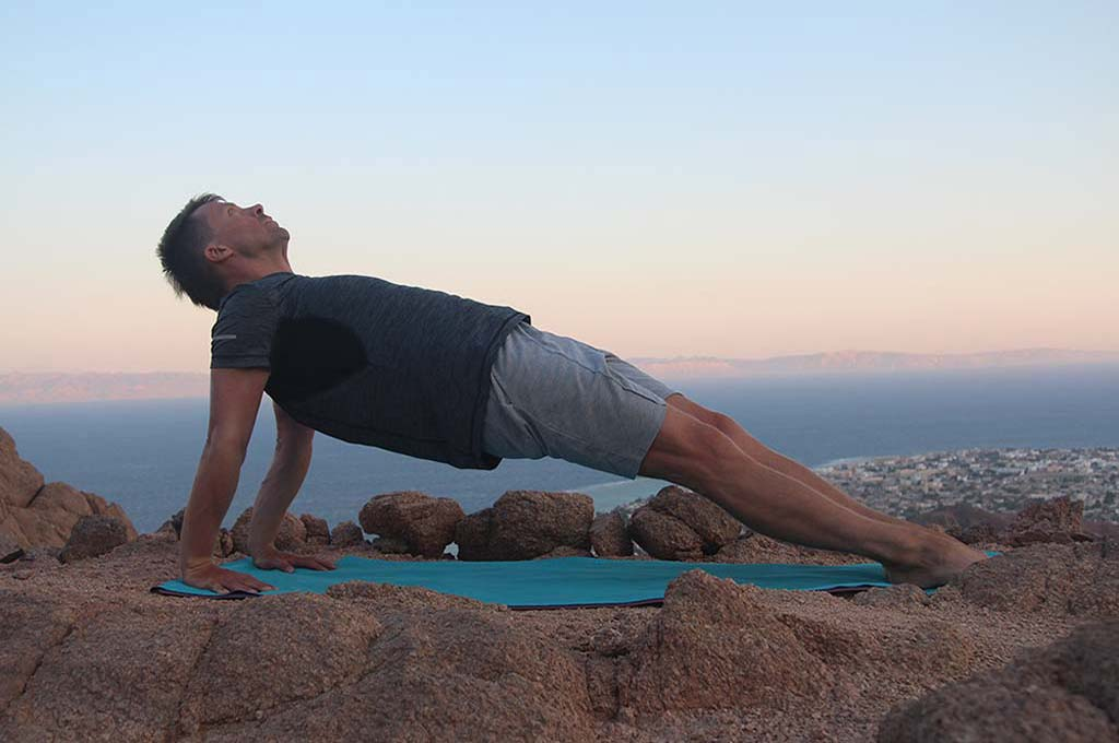 Пурвоттанасана - обучение йоге